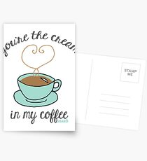 Cream in my Coffee Postcards