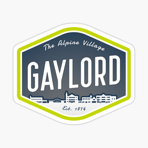Gaylord - The Alpine Village Sticker