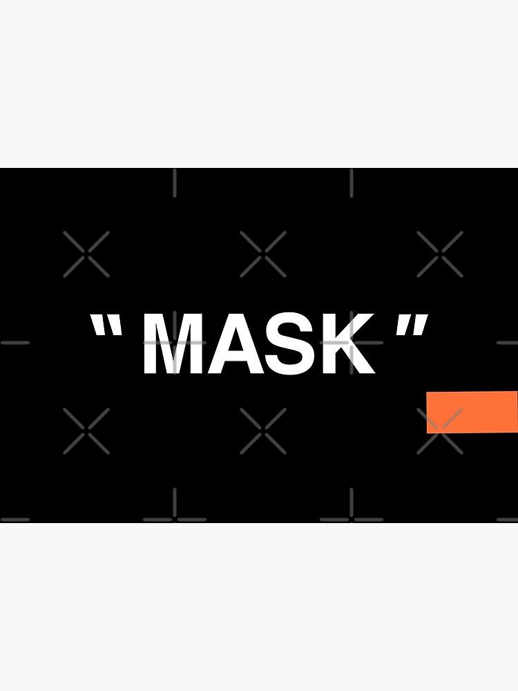 """ MASK "" w/ Orange Block by LongWinded"
