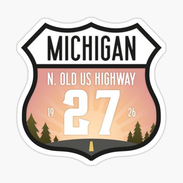 N. Old 27 US Highway Sticker