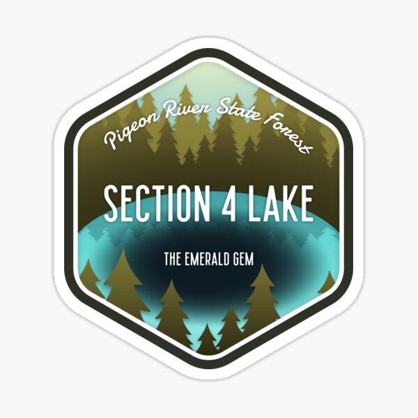 Section 4 Lake Sticker
