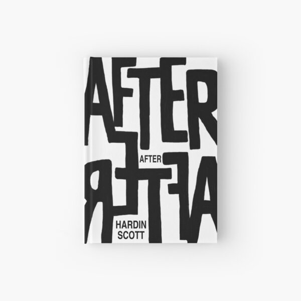 After by Hardin Scott Hardcover Journal