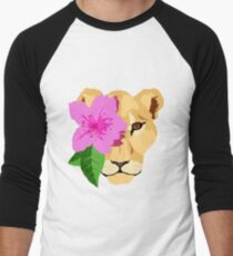 Lioness Men's Baseball ¾ T-Shirt