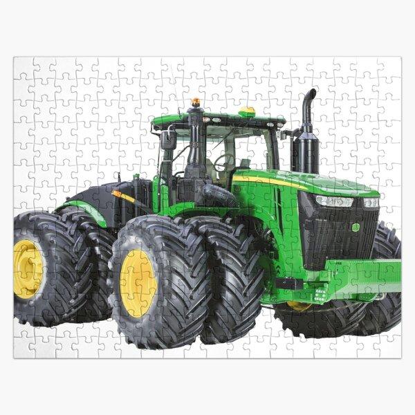 Modern Farm Tractor Jigsaw Puzzle