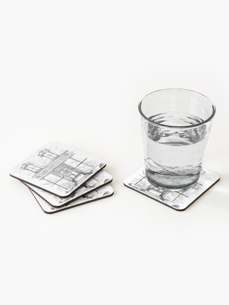 Alternate view of Rose Apothecary Coasters (Set of 4)