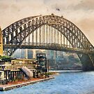 Sydney Harbor (ED) by Ray Warren