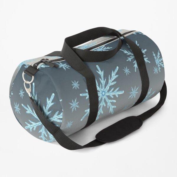 Christmas Pattern Colorful Snowflake Gift Duffle Bag