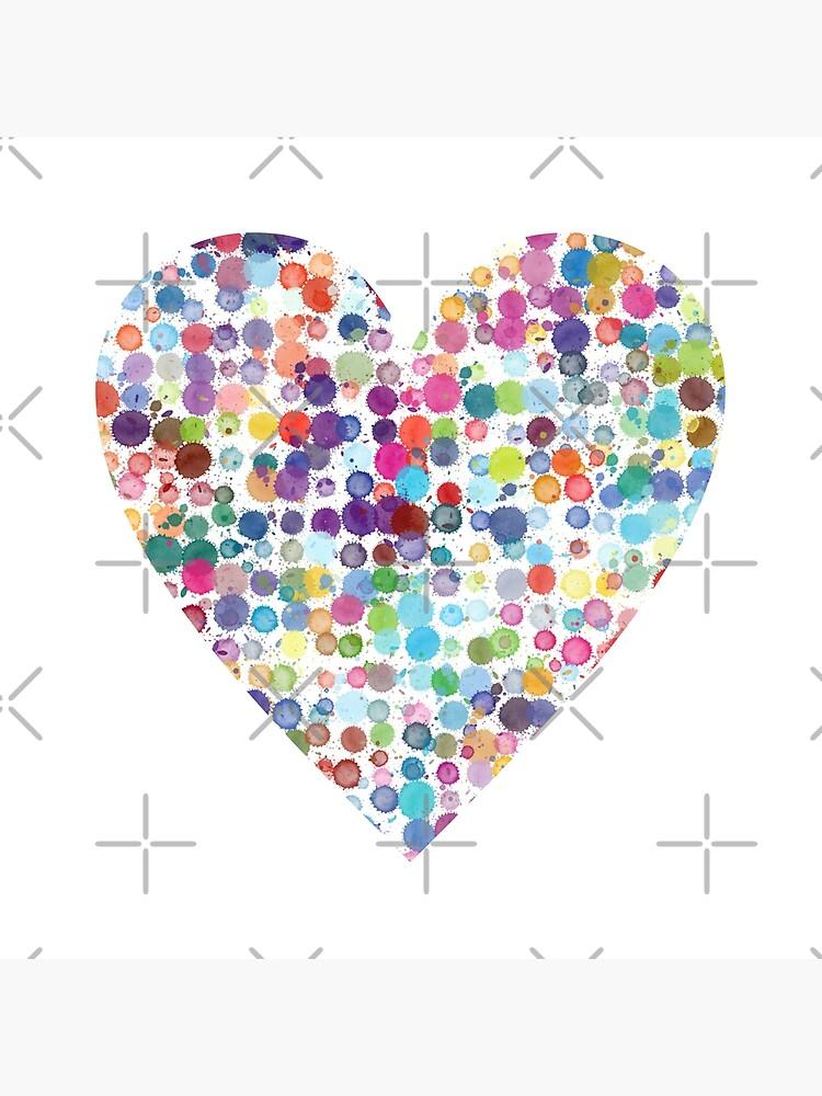 Kaleidoscope Heart by MyMadMerch