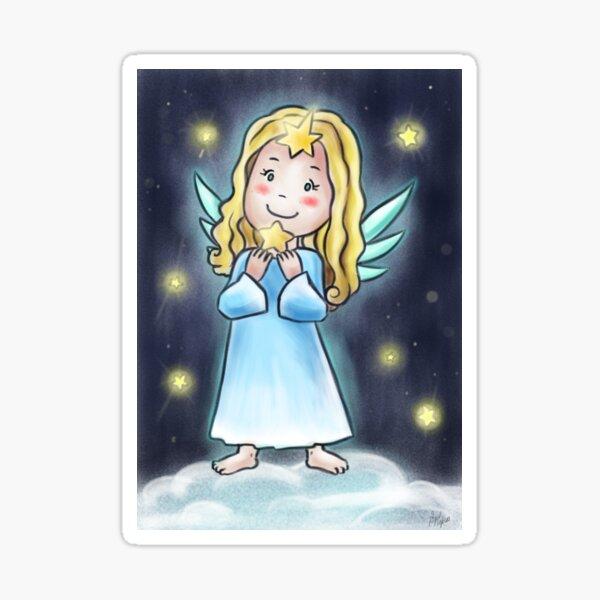 Weihnachtskind/Engelchen Sticker