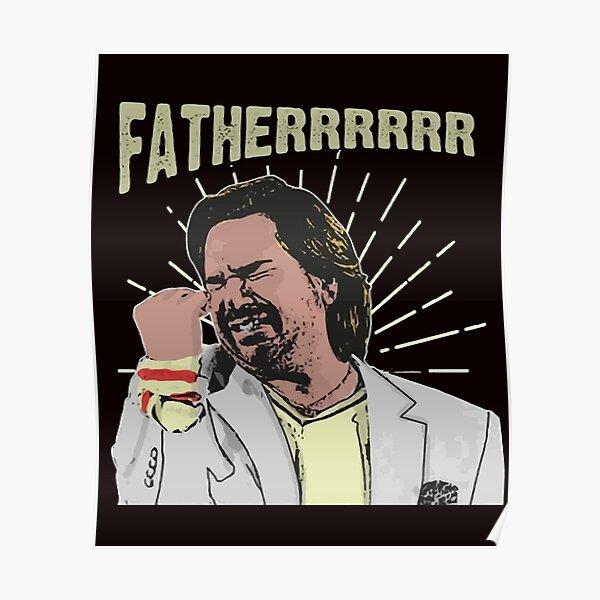 Douglas Reynholm Father The It Crowd Poster