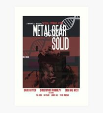 Massiv - Metal Gear Kunstdruck