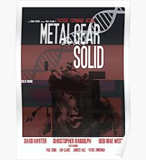 Solid - Metal Gear Poster