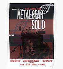Massiv - Metal Gear Poster