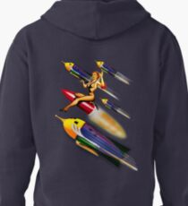 rock rock rock it to the moon! Pullover Hoodie
