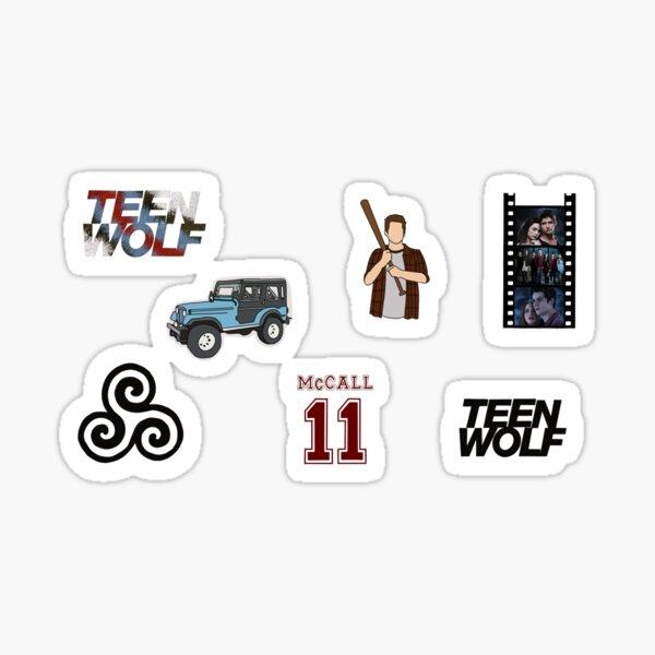 Ensemble d'autocollants Teen Wolf Sticker