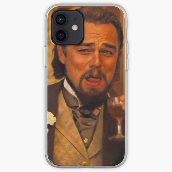 Leo laughing face  iPhone Soft Case