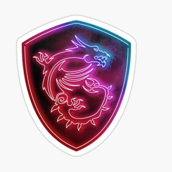 MSI logo Gamer Pegatina