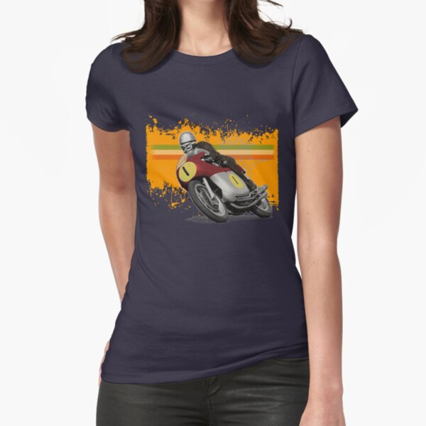 cafe racer mv agusta one Fitted T-Shirt
