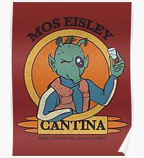 Mos Eisley Cantina Poster