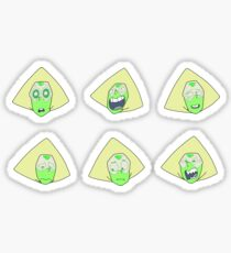 Peridot Faces Sticker