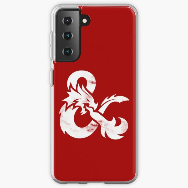 Dungeons and Dragons (White) Samsung Galaxy Soft Case