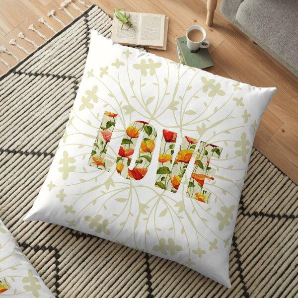 LOVE Life! Floor Pillow
