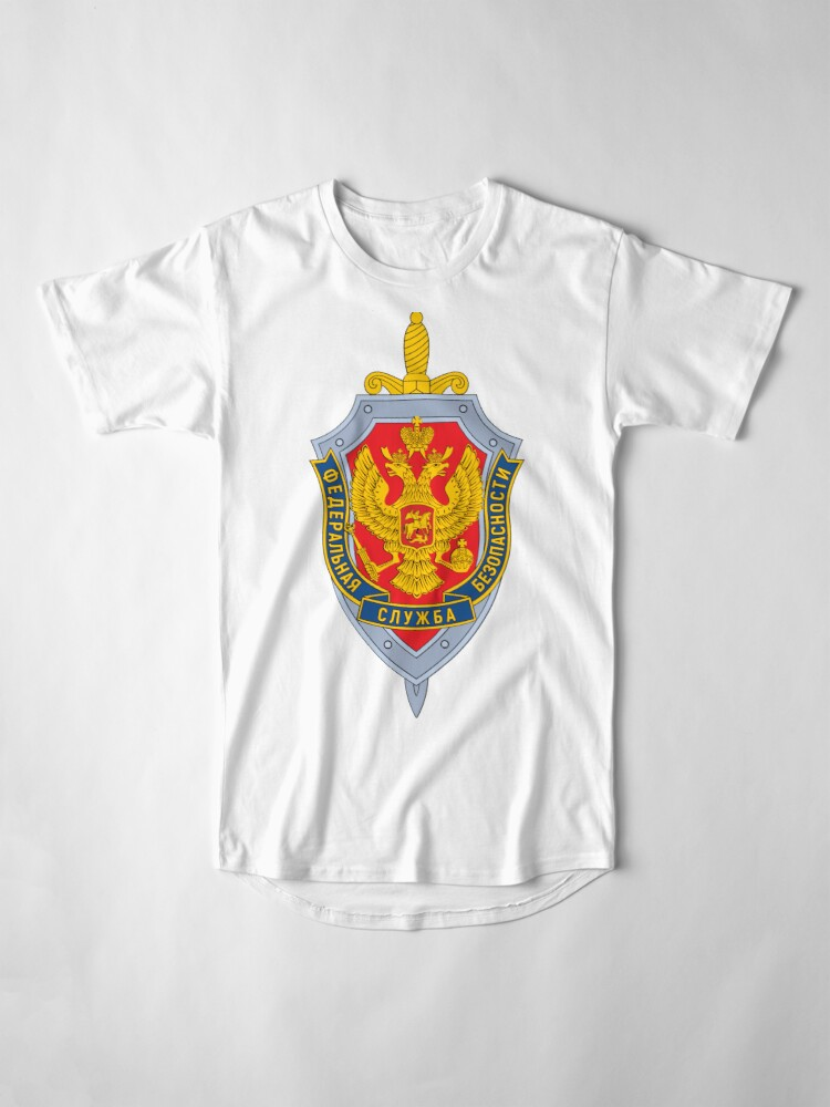 Alternate view of Emblem of the Russian Federal Security Service Long T-Shirt