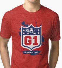 Gridiron Graffiti - Team G1 Tri-blend T-Shirt