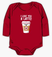 Latte Love One Piece - Long Sleeve