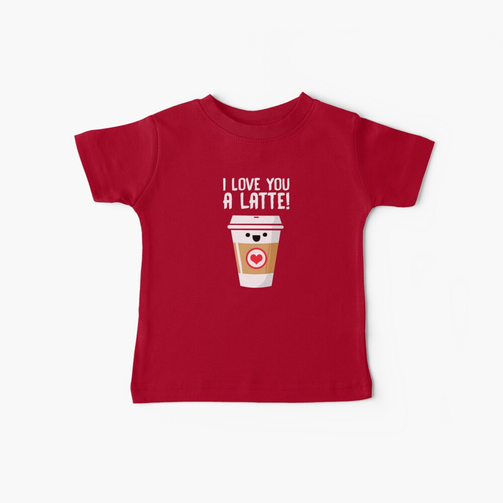 Latte Love Baby T-Shirt
