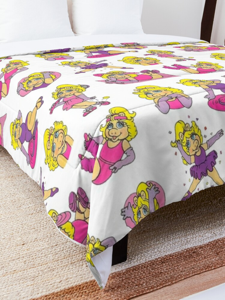Alternate view of 1980s Piggy Comforter