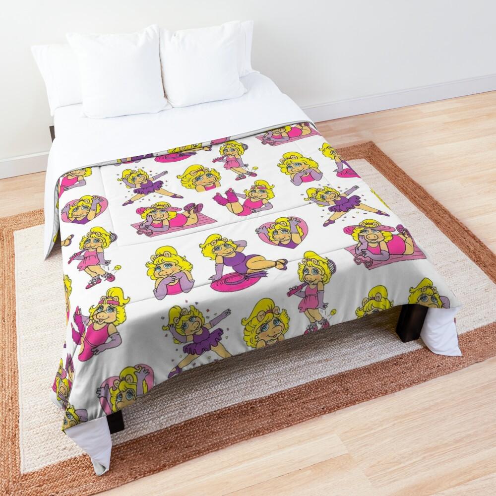 1980s Piggy Comforter