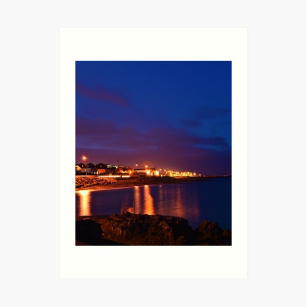 Galway Bay and Salthill  Art Print