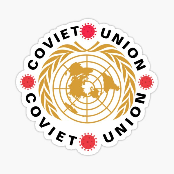 The Coviet Union Official Logo Sticker