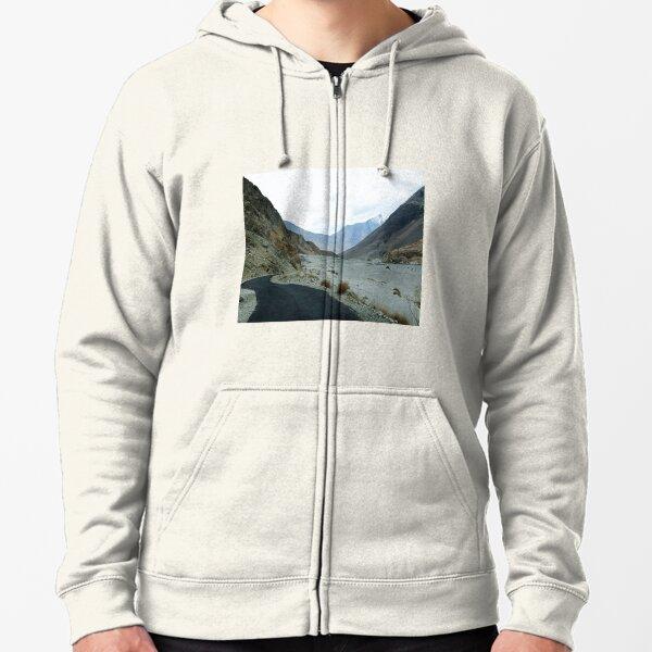 Rocky mountains Zipped Hoodie