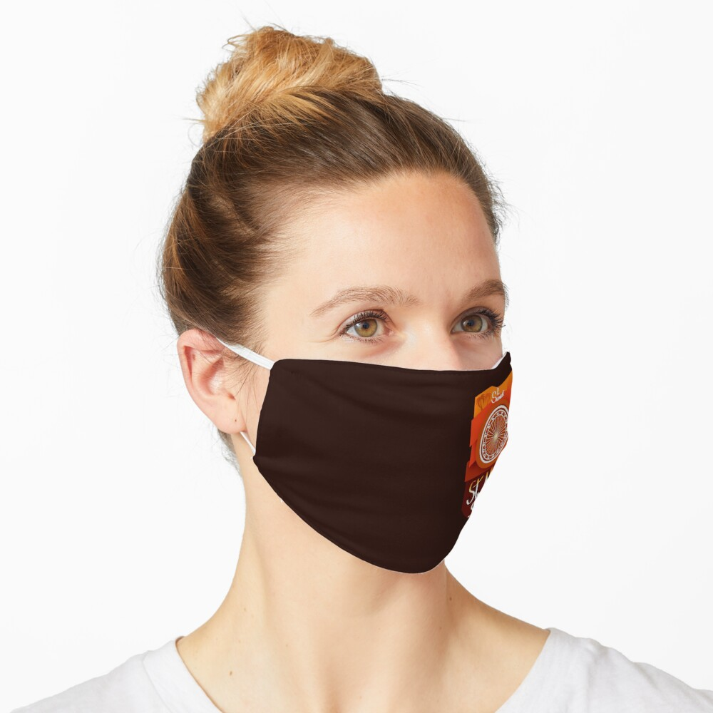 Sunset Pier - Santa Monica Pacific wheel (red sunset) Mask