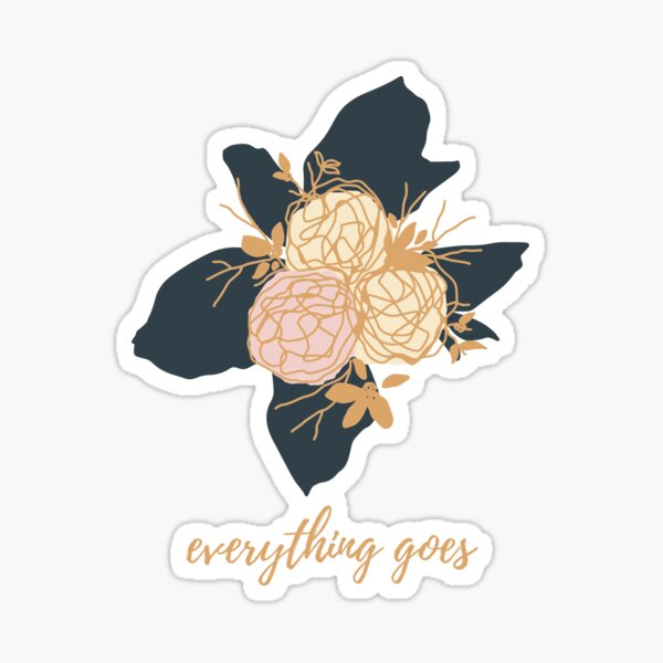 BTS RM 'MONO' everythinggoes positivity design Sticker