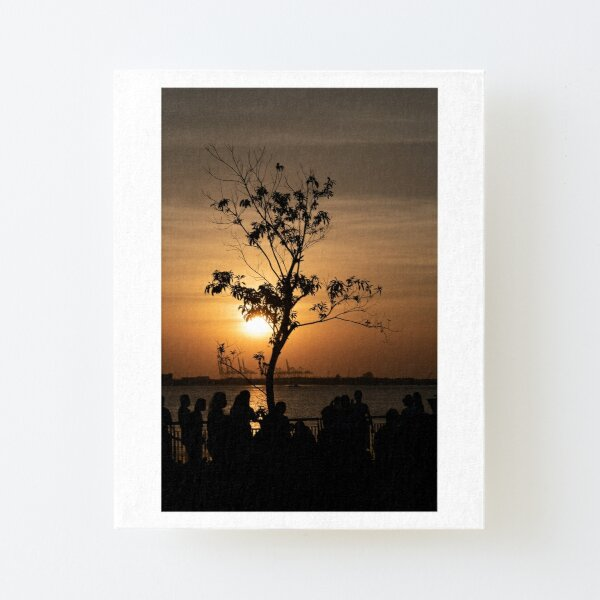 Tamsui Sunset Canvas Mounted Print