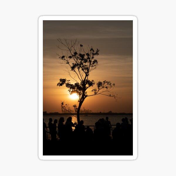 Tamsui Sunset Sticker