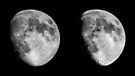 Moon in 3D by Duncan Waldron