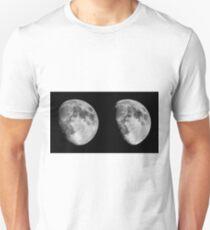 Moon in 3D Unisex T-Shirt
