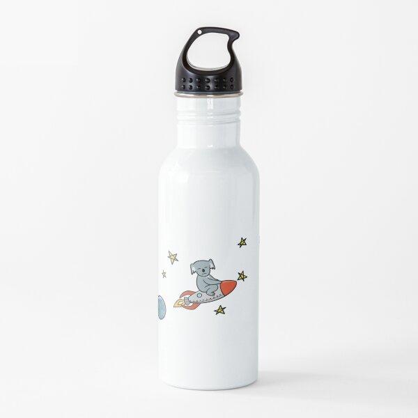 Koala on a Rocket  Water Bottle