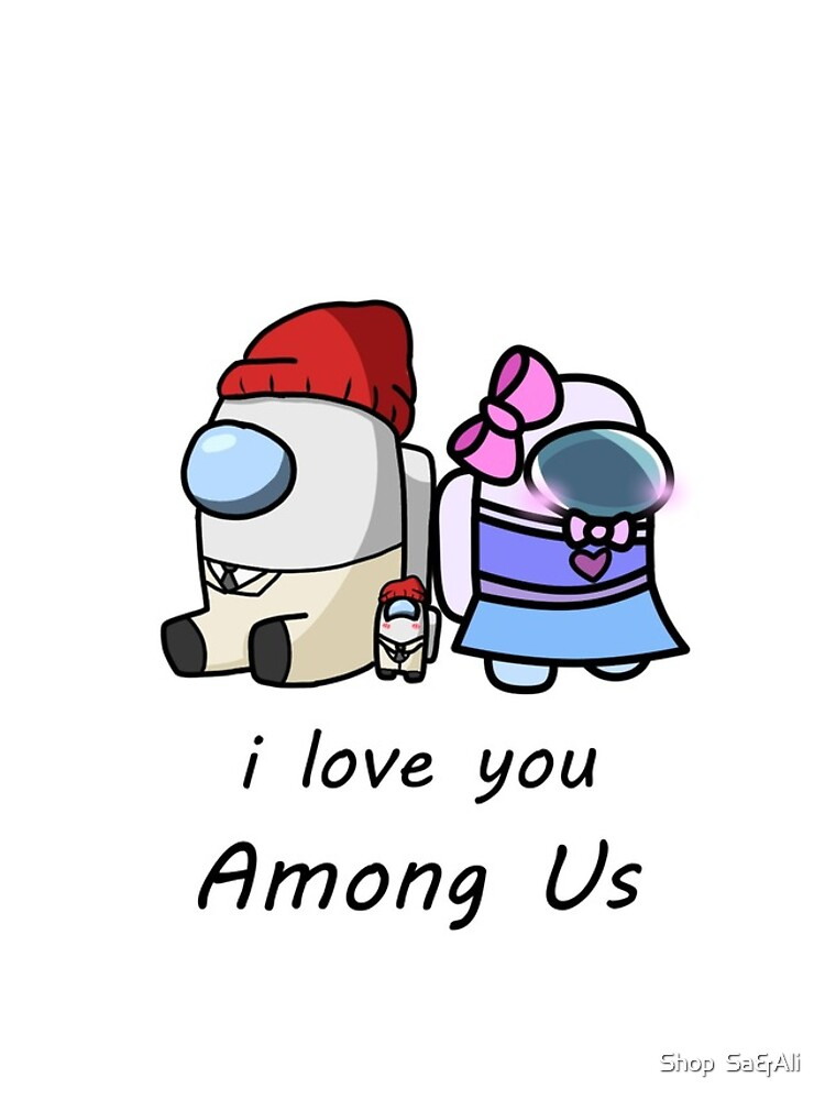 among us characters brown i love you by samerdaboul
