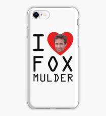 I Heart Fox Mulder iPhone Case/Skin