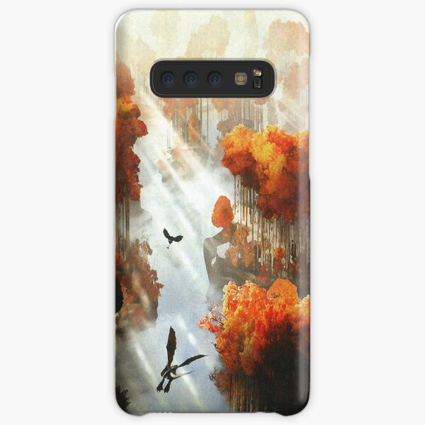 Flying in Autumn Samsung Galaxy Snap Case