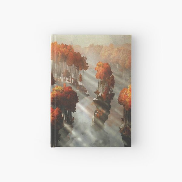 Flying in Autumn Hardcover Journal