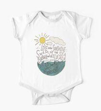 Emerson: Lebe in der Sonne Baby Body Kurzarm