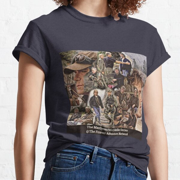 MacGyver SG-1 Collage Classic T-Shirt