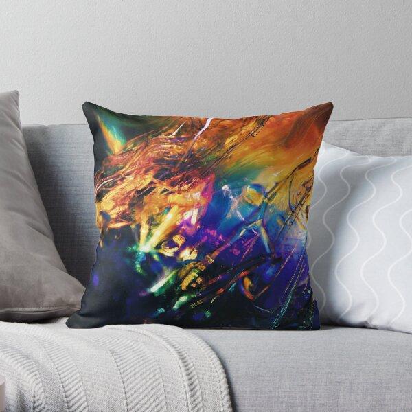 Rainbolic - Experimental Prism Photograph #09 Throw Pillow