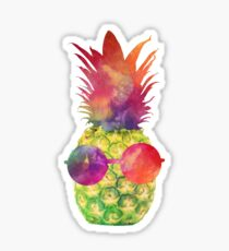 Green Pineapple Sticker